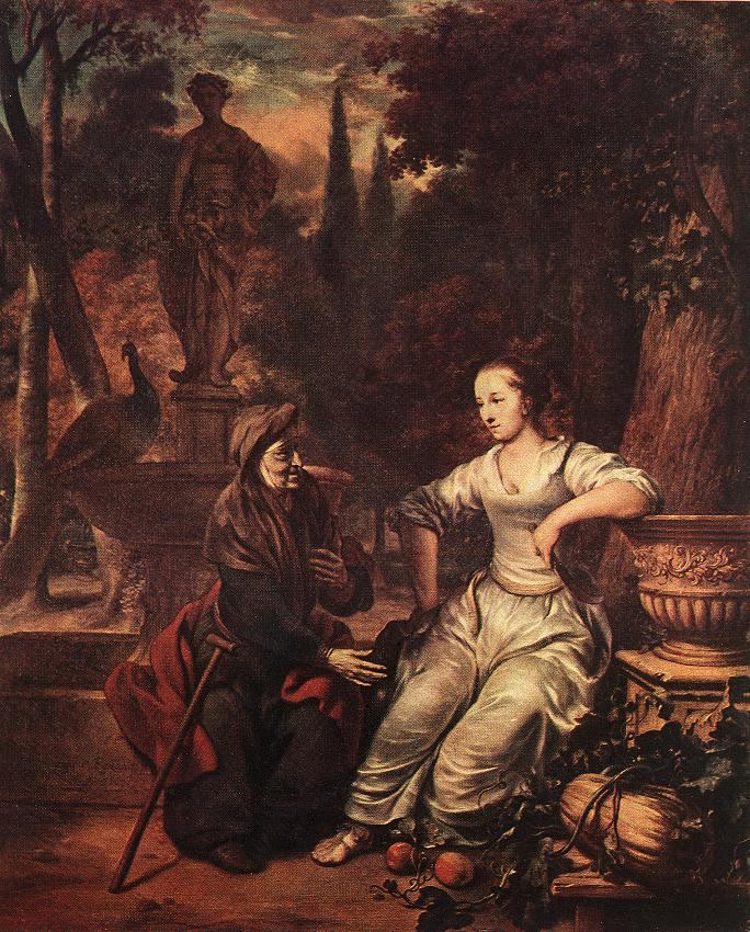 Painting, Vertumnus and Pomona, Gerbrand van der Eeckhout