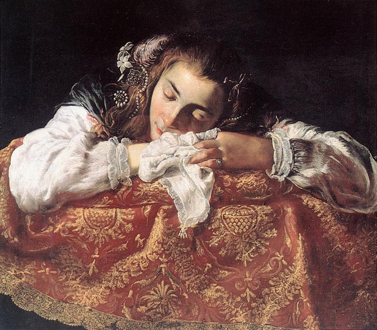 SLEEPING GIRL - 1615 - DOMENICO FETI